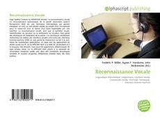 Bookcover of Reconnaissance Vocale