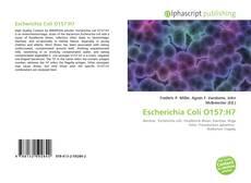 Bookcover of Escherichia Coli O157:H7