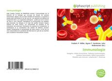 Bookcover of Immunologie