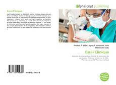 Bookcover of Essai Clinique