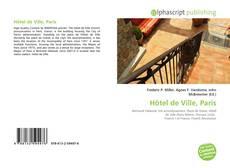 Bookcover of Hôtel de Ville, Paris
