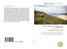 Buchcover von Leopold Report