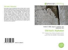 Borítókép a  Old Italic Alphabet - hoz