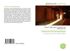 Bookcover of Costume Ecclésiastique