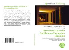 Bookcover of International General Certificate of Secondary Education