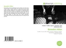 Bookcover of Benedict Allen