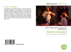 Bookcover of Couleur Liturgique