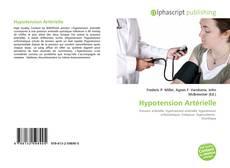 Bookcover of Hypotension Artérielle