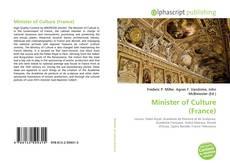 Portada del libro de Minister of Culture (France)