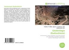 Copertina di Géobiologie (Radiesthésie)