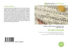 St John Passion的封面