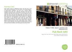 Buchcover von Pub Rock (UK)