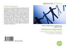 Borítókép a  Préférence Régionale - hoz