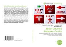 Portada del libro de British Columbia Ambulance Service