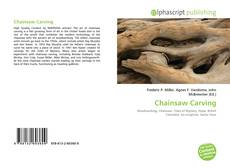 Bookcover of Chainsaw Carving