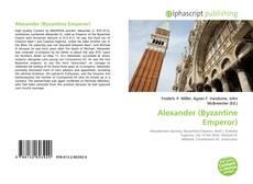 Обложка Alexander (Byzantine Emperor)