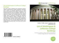 List of Washington kitap kapağı