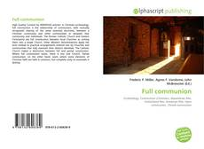 Full communion kitap kapağı