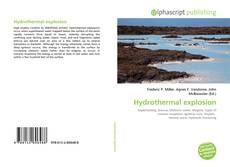 Bookcover of Hydrothermal explosion