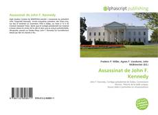 Buchcover von Assassinat de John F. Kennedy