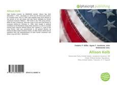Bookcover of Allison Kolb