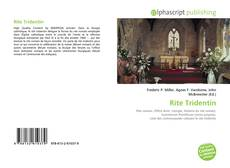 Bookcover of Rite Tridentin