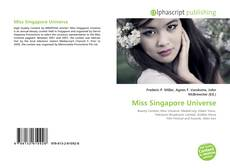 Bookcover of Miss Singapore Universe