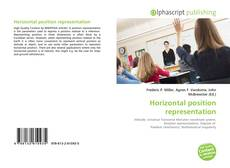 Capa do livro de Horizontal position representation