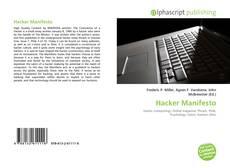 Buchcover von Hacker Manifesto