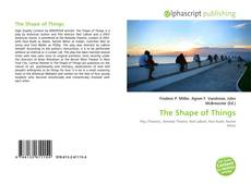 Bookcover of The Shape of Things