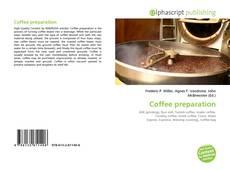 Обложка Coffee preparation