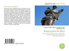 Bookcover of Persécution de Dèce