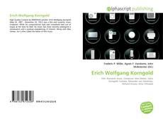 Buchcover von Erich Wolfgang Korngold