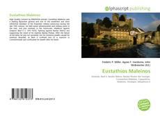 Bookcover of Eustathios Maleinos