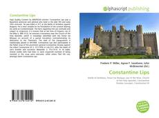 Bookcover of Constantine Lips