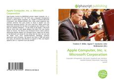 Copertina di Apple Computer, Inc. v. Microsoft Corporation