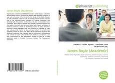 Bookcover of James Boyle (Academic)