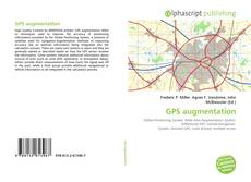 Bookcover of GPS augmentation
