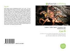 Bookcover of Cao Pi