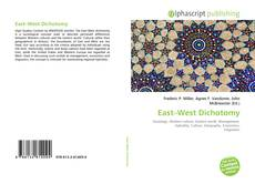 Bookcover of East–West Dichotomy