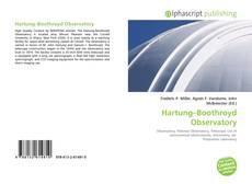 Hartung–Boothroyd Observatory kitap kapağı