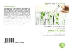 External Validity的封面