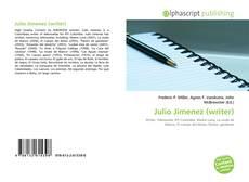 Bookcover of Julio Jimenez (writer)