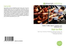 Bookcover of Hail to Pitt