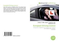 Buchcover von European Driving Licence