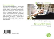 Bookcover of Screenwriter's Salary