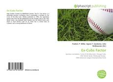 Bookcover of Ex-Cubs Factor