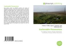 Buchcover von Inalienable Possessions