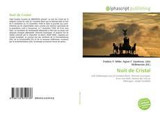 Capa do livro de Nuit de Cristal