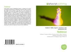 Buchcover von Noblesse